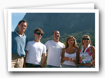 Madson, Roberto and his family (Italy)